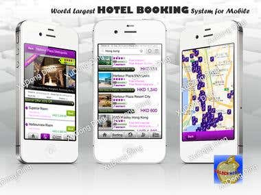 Social Networking Hotel Booking App