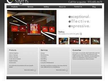 Print Media Website -WordPress