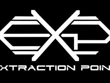 Extraction Point (Philippines) band logo design