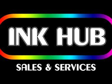 Ink Hub logo design