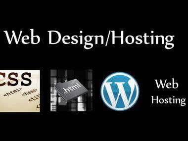 Web Design/Hosting