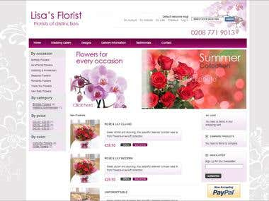 Magento - Floral Site