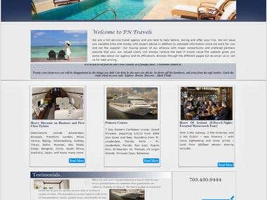 It is WordPress based online travelling website.