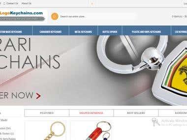 Responsive Ecommerce website in opencart