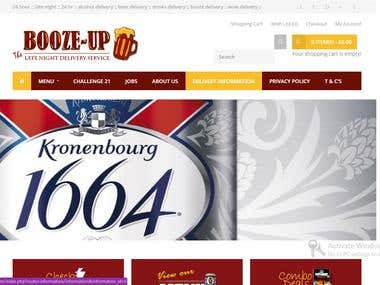 Ecommerce responsive website