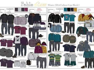Winter 2014 Collection - Kid Wear