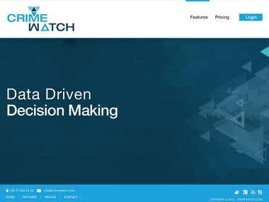 Crime Watch Website Designs