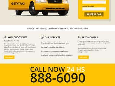 Taxi Wordpress  Theme 2