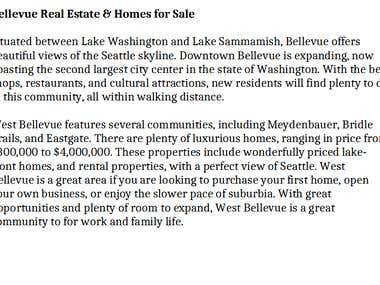 Real Estate Description