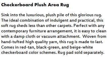 Furniture Product Description