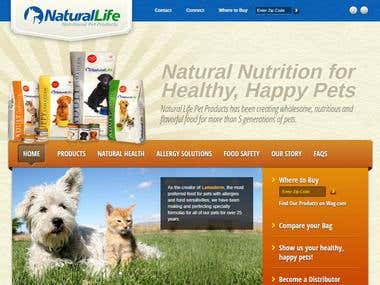 Website for Pets