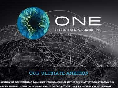 Oneglobalevents Website