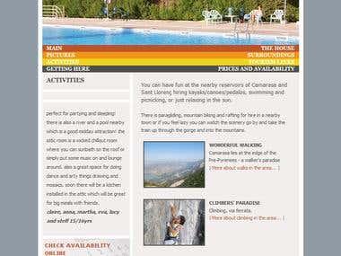 Caladaina Website