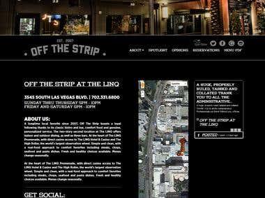 Off The Strip Website