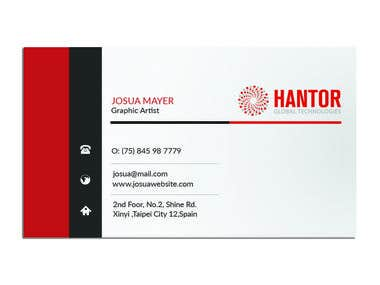 Contest Wining Business card Design.