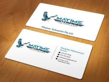 Contest Wining Business card Design
