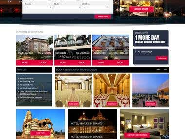 Online Hotel Booking Website Development