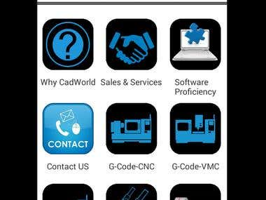 CNC VMC ( Android App )