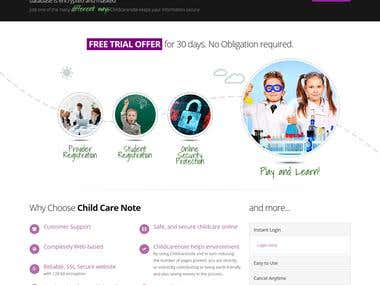Child Daycare Software
