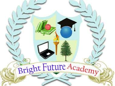 web logo for  Bright Future acdemy