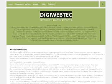 DIGIWEBTEC - Responsive and wordpress website