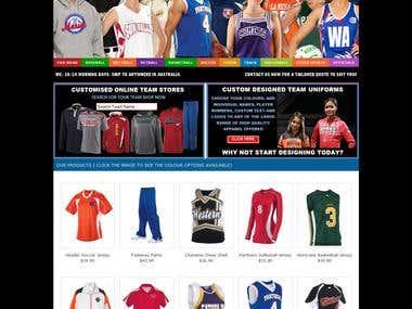 Sports E-Commerce Portal