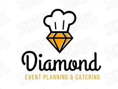 Diamond Catering Branding