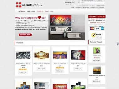 Product Upload in Open Cart | www.wallartdeals.com/