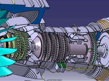 Pratt & Whitney Turbofan Engine Pure Power-1000G