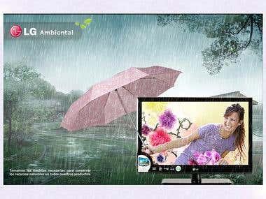 LG Ambiental Ad Print