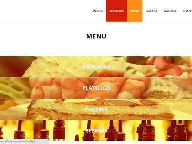 Sitio web de Restaurante El Bigotes I