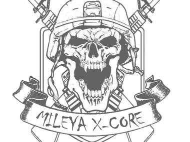 mileya X-sore tshirt