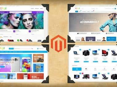 Magento Ecommerce Websites