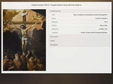 Virtual Painting Card