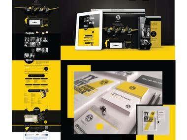 identity design / website design