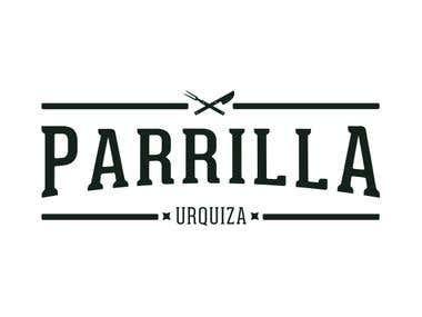 Logotipo Parrilla Urquiza