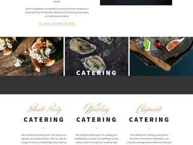 WordPress based Restaurant website