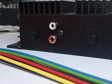Audio Amplifier for Public Transport