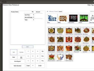 Java based Restaurant Management System