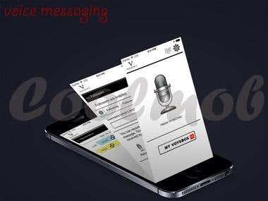 Voysyt - voice messaging app, social app