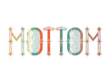 Mottom Logo Design Fashion Company
