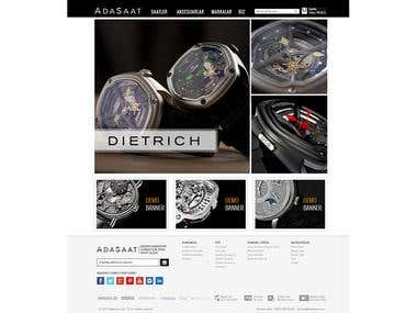Adasaat.com Website Design