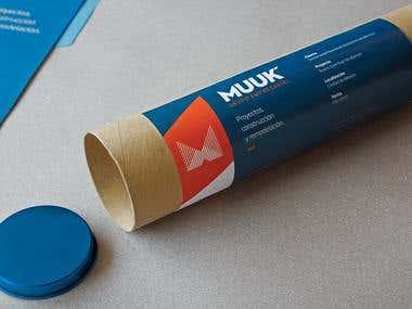 MUUK Architects Branding