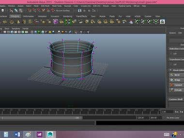 3D Models in Maya