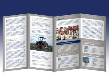 BROCHURE FOR A PETROLEUM INDUSTRY