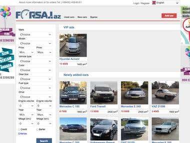 Forsaj.az - cars site