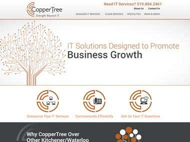 Coppertree Solutions - Screenshot