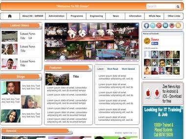 CMS Website in Asp.Net