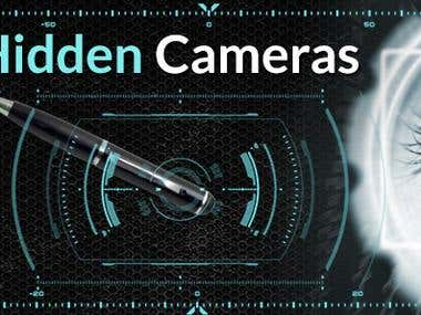 Banner for Hidden Cameras