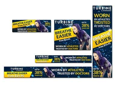 Banner set for Turbine